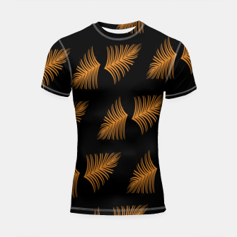 Gold leaf  Shortsleeve rashguard miniature