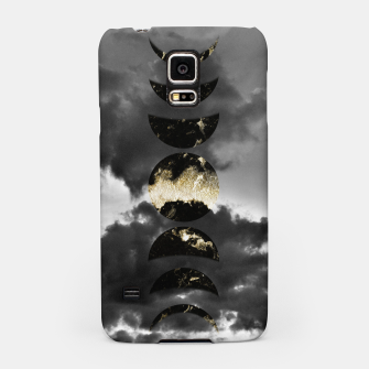 Thumbnail image of Mystical Moon Phases #1 #gold #black #decor #art  Handyhülle für Samsung, Live Heroes