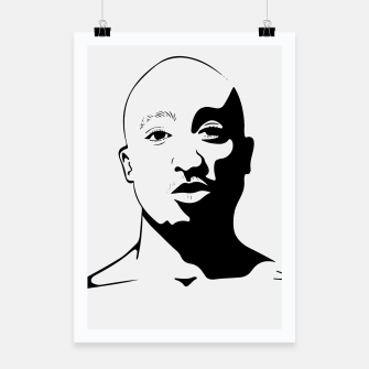 Thumbnail image of Tupac keep your head up Poster, Live Heroes