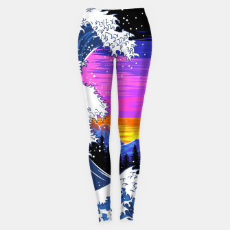 Miniatur Mountain Wave Leggings, Live Heroes