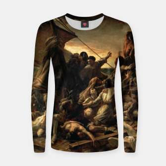 Miniatur Théodore Géricault-The Raft of the Medusa Women sweater, Live Heroes