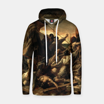 Thumbnail image of Théodore Géricault-The Raft of the Medusa Hoodie, Live Heroes