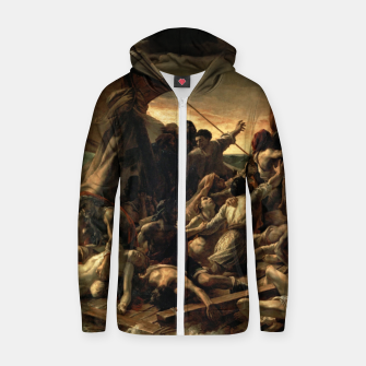 Thumbnail image of Théodore Géricault-The Raft of the Medusa Zip up hoodie, Live Heroes