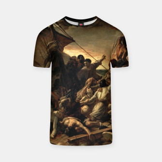 Thumbnail image of Théodore Géricault-The Raft of the Medusa T-shirt, Live Heroes