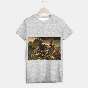 Miniaturka Théodore Géricault-The Raft of the Medusa T-shirt regular, Live Heroes