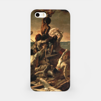 Miniatur Théodore Géricault-The Raft of the Medusa iPhone Case, Live Heroes