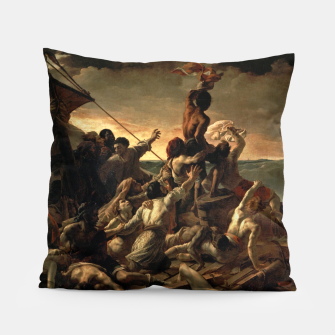 Thumbnail image of Théodore Géricault-The Raft of the Medusa Pillow, Live Heroes