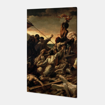 Thumbnail image of Théodore Géricault-The Raft of the Medusa Canvas, Live Heroes