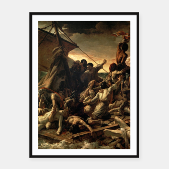 Miniatur Théodore Géricault-The Raft of the Medusa Framed poster, Live Heroes