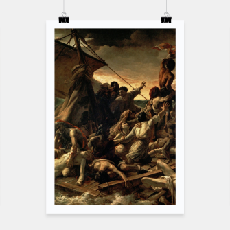 Miniatur Théodore Géricault-The Raft of the Medusa Poster, Live Heroes