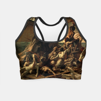 Miniatur Théodore Géricault-The Raft of the Medusa Crop Top, Live Heroes