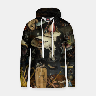 Thumbnail image of Hieronymus Bosch-The Garden of Earthly Delights (Hell) Hoodie, Live Heroes