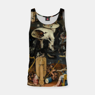 Thumbnail image of Hieronymus Bosch-The Garden of Earthly Delights (Hell) Tank Top, Live Heroes