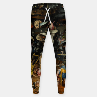 Thumbnail image of Hieronymus Bosch-The Garden of Earthly Delights (Hell) Sweatpants, Live Heroes