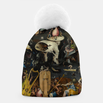 Thumbnail image of Hieronymus Bosch-The Garden of Earthly Delights (Hell) Beanie, Live Heroes