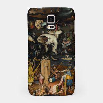 Thumbnail image of Hieronymus Bosch-The Garden of Earthly Delights (Hell) Samsung Case, Live Heroes