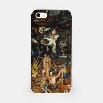 Thumbnail image of Hieronymus Bosch-The Garden of Earthly Delights (Hell) iPhone Case, Live Heroes