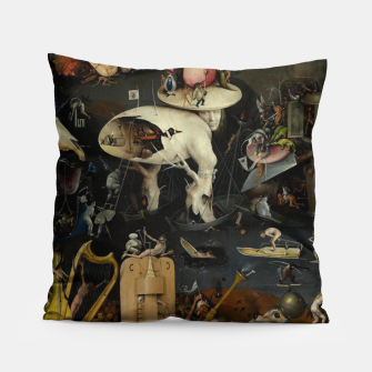 Miniaturka Hieronymus Bosch-The Garden of Earthly Delights (Hell) Pillow, Live Heroes