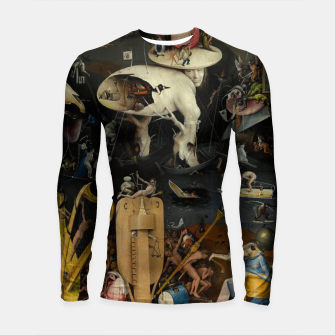 Miniaturka Hieronymus Bosch-The Garden of Earthly Delights (Hell) Longsleeve rashguard , Live Heroes