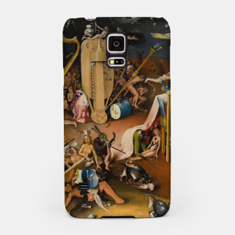 Miniatur Hieronymus Bosch-The Garden of Earthly Delights (Hell) 3 Samsung Case, Live Heroes