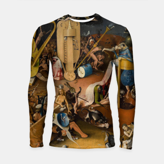 Miniaturka Hieronymus Bosch-The Garden of Earthly Delights (Hell) 3 Longsleeve rashguard , Live Heroes