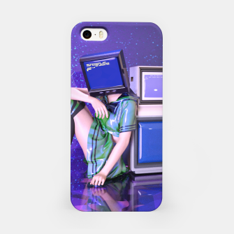 Imagen en miniatura de Idiot Box iPhone Case, Live Heroes