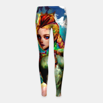 Miniaturka cammy Girl's leggings, Live Heroes