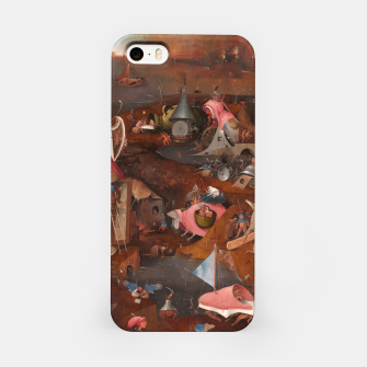 Miniatur Hieronymus Bosch-Last Judgement iPhone Case, Live Heroes