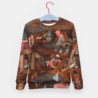 Miniatur Hieronymus Bosch-Last Judgement Kid's sweater, Live Heroes