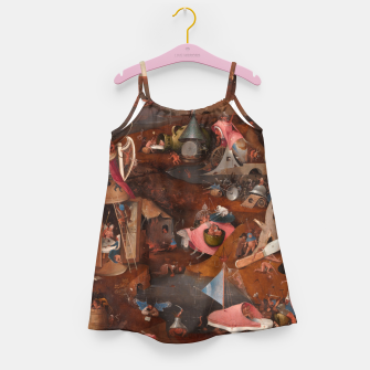 Miniatur Hieronymus Bosch-Last Judgement Girl's dress, Live Heroes