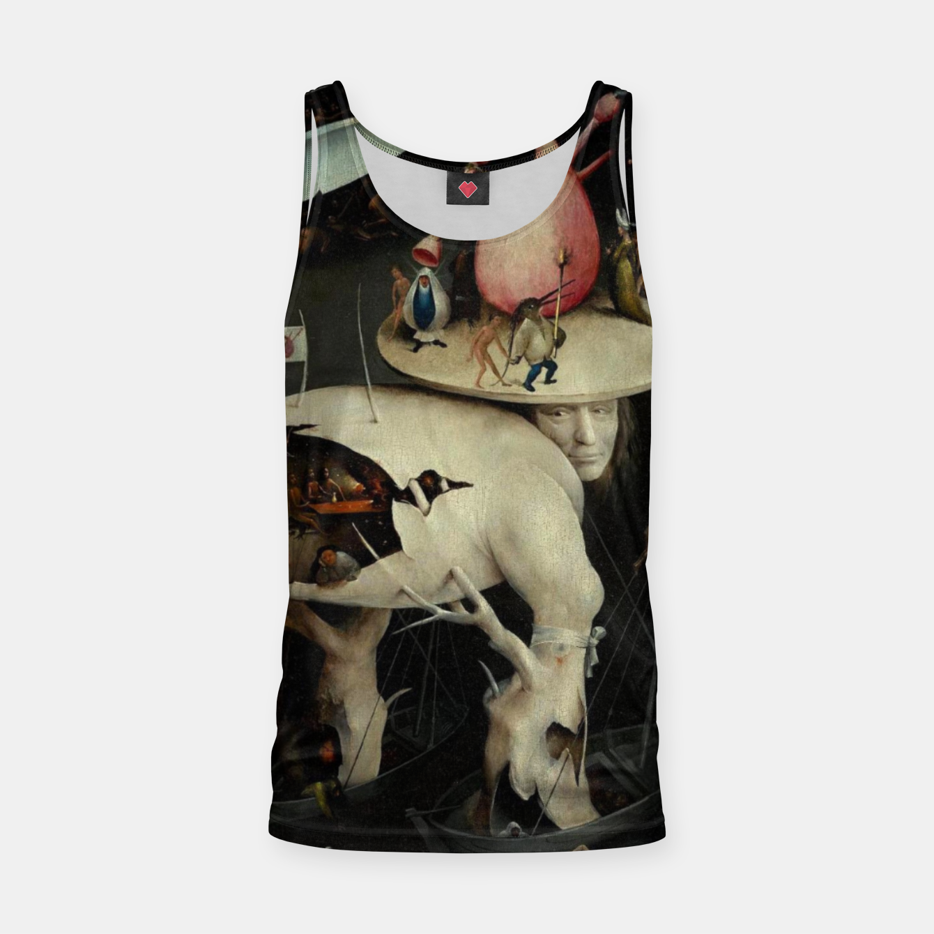 Image of Hieronymus Bosch-The Garden of Earthly Delights (Hell) 2 Tank Top - Live Heroes
