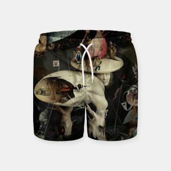 Miniatur Hieronymus Bosch-The Garden of Earthly Delights (Hell) 2 Swim Shorts, Live Heroes