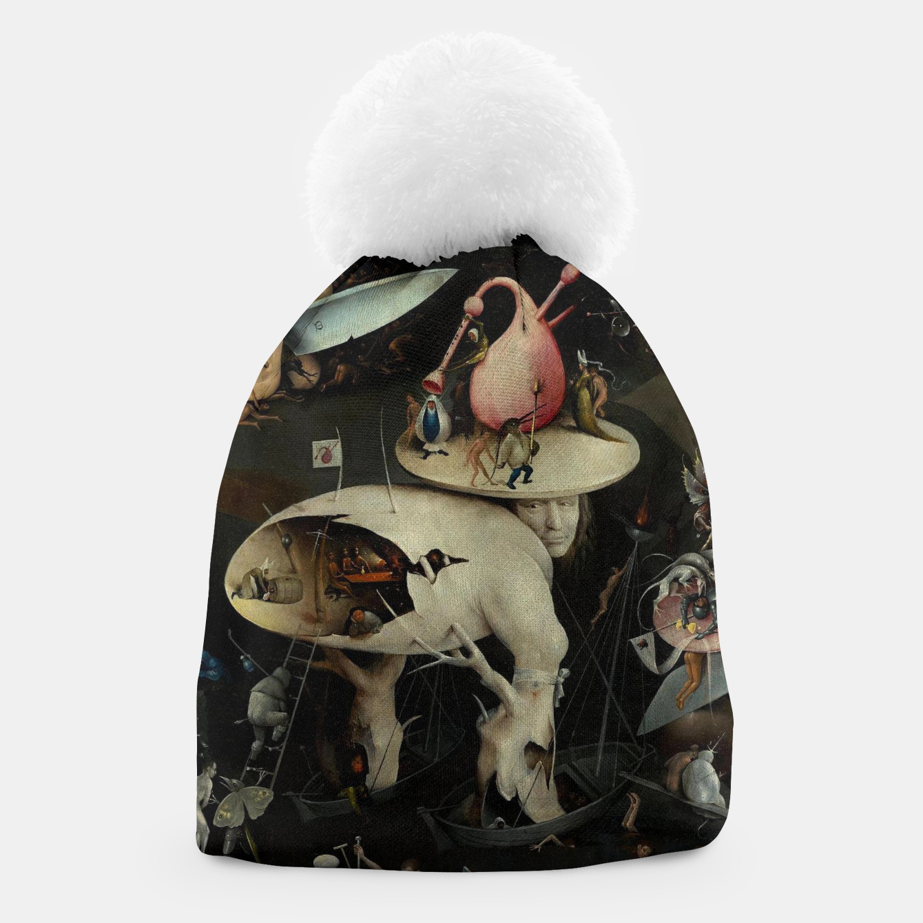 Image of Hieronymus Bosch-The Garden of Earthly Delights (Hell) 2 Beanie - Live Heroes