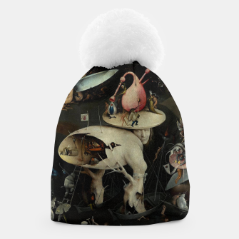 Miniatur Hieronymus Bosch-The Garden of Earthly Delights (Hell) 2 Beanie, Live Heroes