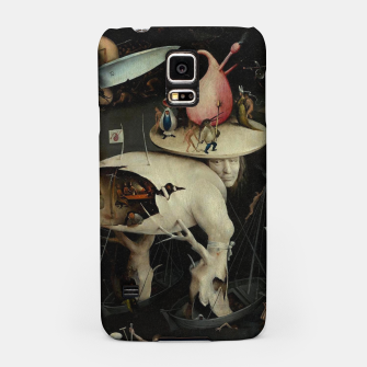 Miniatur Hieronymus Bosch-The Garden of Earthly Delights (Hell) 2 Samsung Case, Live Heroes