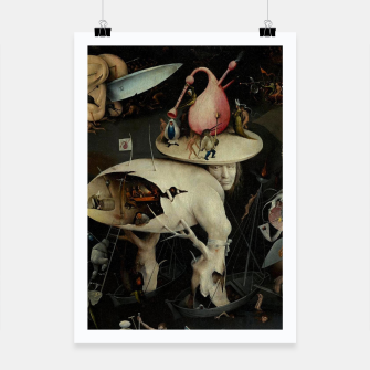 Miniaturka Hieronymus Bosch-The Garden of Earthly Delights (Hell) 2 Poster, Live Heroes