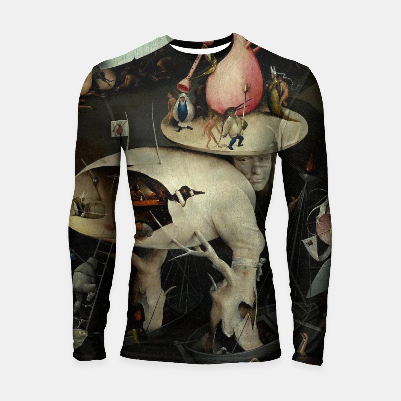 Zdjęcie Hieronymus Bosch-The Garden of Earthly Delights (Hell) 2 Longsleeve rashguard  - Live Heroes