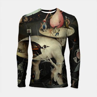 Miniaturka Hieronymus Bosch-The Garden of Earthly Delights (Hell) 2 Longsleeve rashguard , Live Heroes