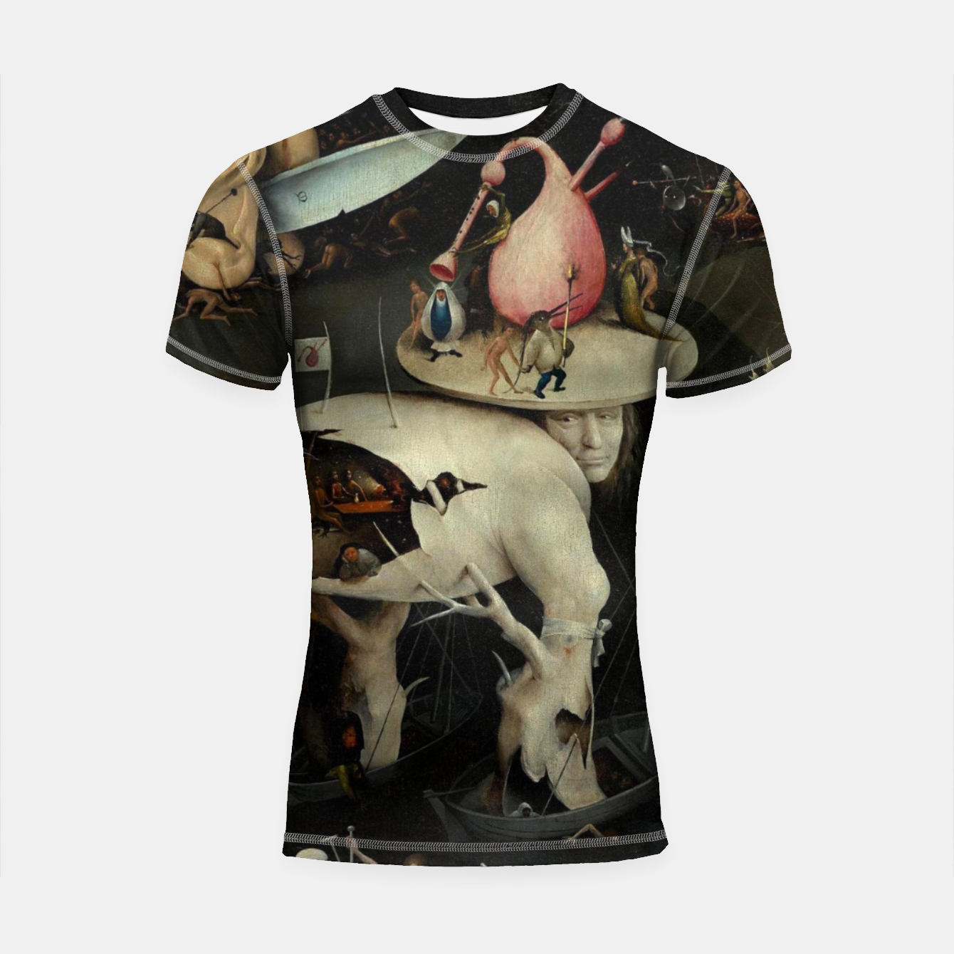 Zdjęcie Hieronymus Bosch-The Garden of Earthly Delights (Hell) 2 Shortsleeve rashguard - Live Heroes