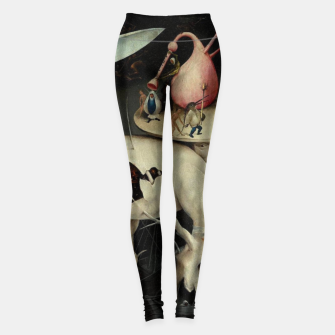 Miniaturka Hieronymus Bosch-The Garden of Earthly Delights (Hell) 2 Leggings, Live Heroes