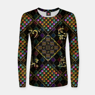Thumbnail image of Secrets of the universe Women sweater, Live Heroes