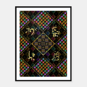 Thumbnail image of Secrets of the universe Framed poster, Live Heroes