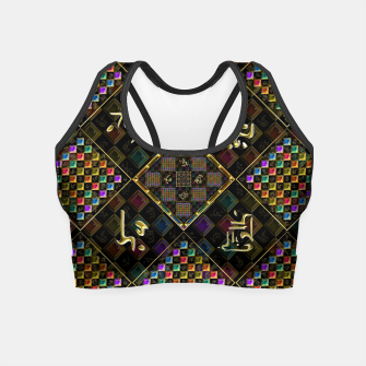 Thumbnail image of Secrets of the universe Crop Top, Live Heroes