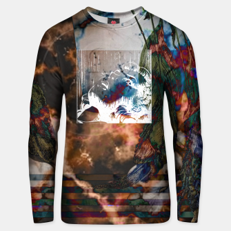 Thumbnail image of Dark Thoughts Unisex sweatshirt, Live Heroes