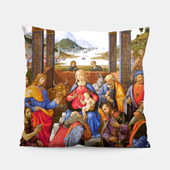 Miniaturka Domenico Ghirlandaio-Adoration of the Magi Pillow, Live Heroes
