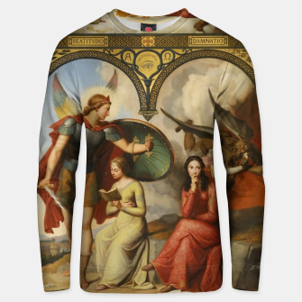 Miniature de image de Victor Orsel-Good and Evil Unisex sweater, Live Heroes