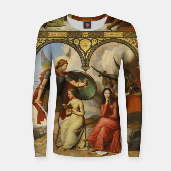 Thumbnail image of Victor Orsel-Good and Evil Women sweater, Live Heroes