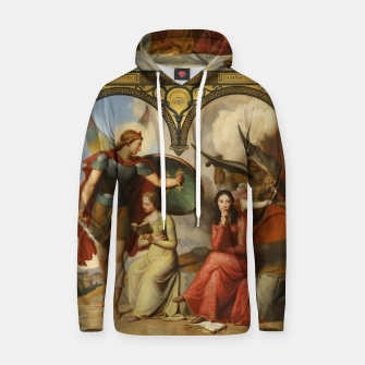 Thumbnail image of Victor Orsel-Good and Evil Hoodie, Live Heroes