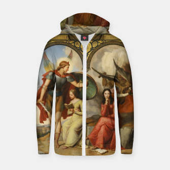 Thumbnail image of Victor Orsel-Good and Evil Zip up hoodie, Live Heroes