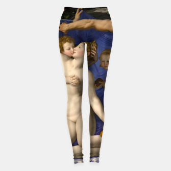 Miniatur Agnolo Bronzino-Venus, Cupid, Folly and Time Leggings, Live Heroes
